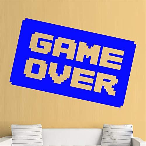 Wandaufkleber Schlafzimmer Videospiel Dekor Gaming Decals Spiel über Ps3 Ps4 Xbox Cool Boys Art Decals Home Room Decor (Für Ps3 Spiele Fisch)