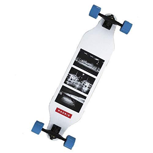 "Madrid Longboard Weezer 36\"" Photo Basic Longboard-Komplettset weiß Einheitsgröße"