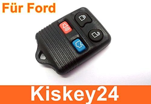 KIS® 4Tasten Schlüssel Fernbedienung Gehäuse für Ford TRANSIT MUSTANG MONDEO FOCUS (Schlüssel Fernbedienung Ford)