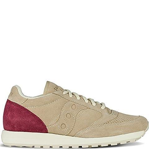Saucony Originals Unisex Jazz O Premium Suede Cream Sneaker