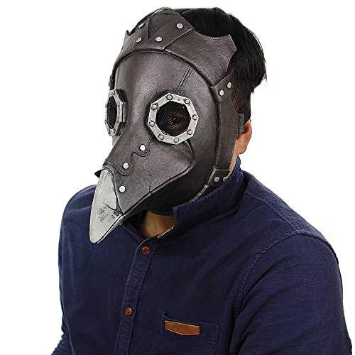 Wbdd Maske Beängstigend Böse Clown Maske, Doppelte Gesicht Latex Gummi Maske Halloween Kostüm Maske (Blut) Clown Mit Haaren Für Erwachsene Masken Vogelkopf (Clown Herren Halloween-kostüme Böser)