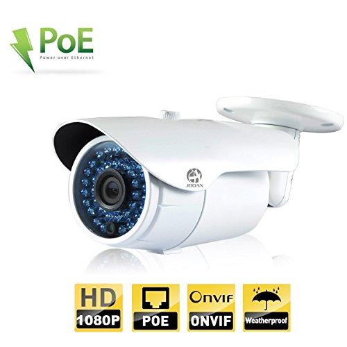 JOOAN 703ERC 2 Megapixel HD 1080P IP della pallottola di sicurezza macchina fotografica resistente, 3,6 (2.1 Sistema Di Monitoraggio)