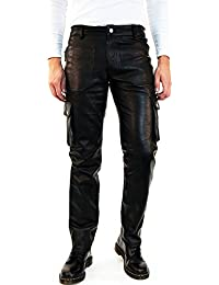Lederhose Cargohose Cargo Leder Feldhose Bockle® Cargo Pants Aniline