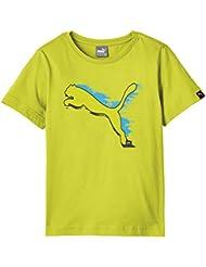 Puma Fundamentals Basics T-shirt à manches courtes pour enfant Motif graphique