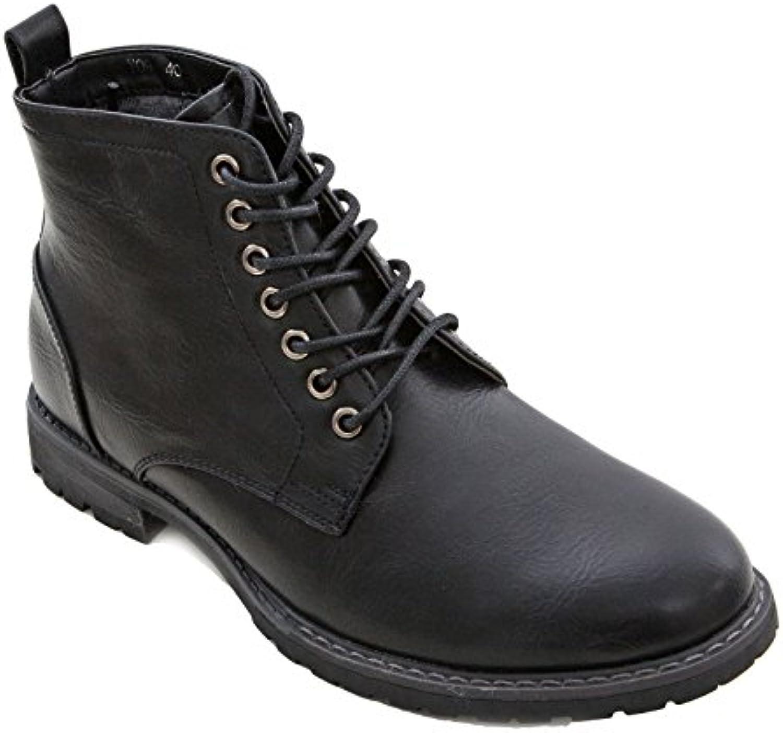 Toocool Y09  Herren Desert BootsToocool Herren Desert Boots Schwarz Billig und erschwinglich Im Verkauf