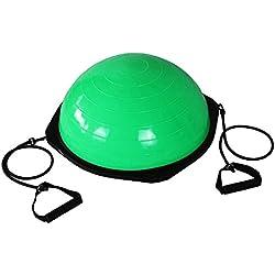 GJX@ La Sra. hombre hemisferio equilibrio Fitness ball Yoga bola bola de yoga , c