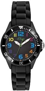 s.Oliver Unisex-Armbanduhr Analog Quarz Silikon SO-2429-PQ