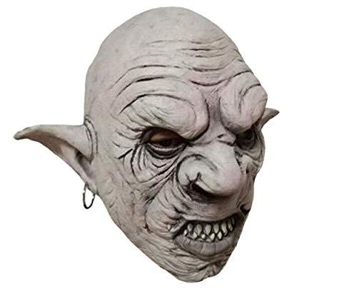 Halloween Maske, Latex Kopfbedeckung Horror Variation Mann, Spukhaus Kammer Charakter Dress Up Requisiten Backenschleier