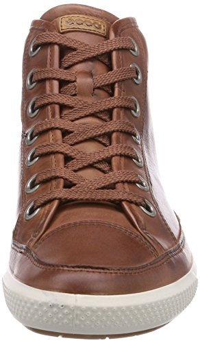 Ecco Summer Zone, Sneaker a Collo Alto Donna Marrone(Mahogany 1195)