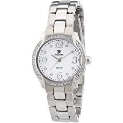 Time Piece Damen-Armbanduhr XS Diamant Analog Quarz TPLA-60446-74M