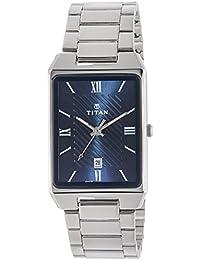Titan Karishma Analog Blue Dial Men's Watch-1777SM02