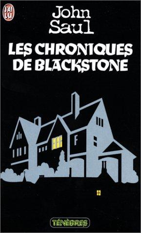 CHRONIQUES DE BLACKSTONE (LES) by JOHN SAUL (January 19,1999)