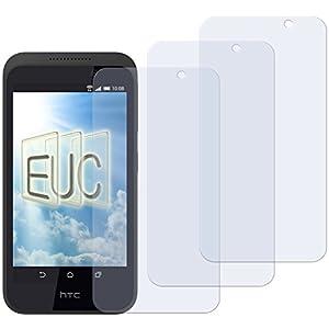 3 x Displayschutzfolie matt/entspiegelnd für HTC Desire 320