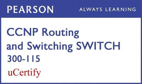 CCNP R&s Switch 300-115 Pearson Ucertify Course Student Access Card (Official Cert Guide) por David Hucaby