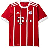 adidas Kinder FC Bayern Heim Trikot, FCB True Red/White, 128