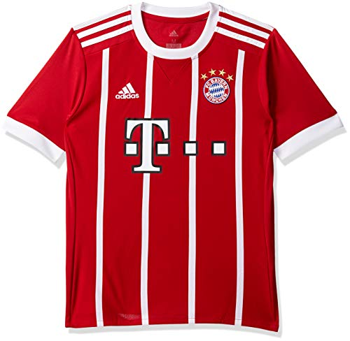 adidas Kinder FC Bayern Heim Trikot FCB True Red/White 152