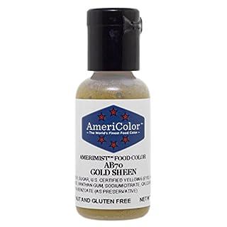 Airbrush Farbe AmeriColor AmeriMist GOLD SHEEN 19ml