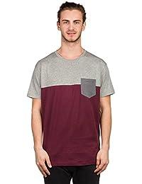 iriedaily T-Shirt Men BLOCK POCKET Grey Mel