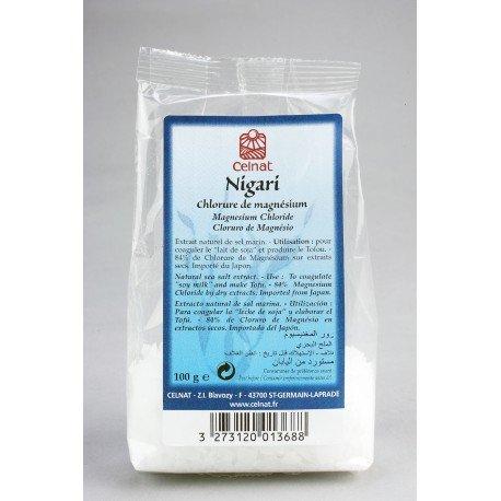 Nigari - Chlorure de magnésium - Celnat - 100g