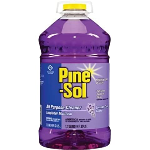 Clorox Pine-Sol Scented All Purpose Cleaners, Lavender Clean, 144 oz by (Pine Sol All Purpose Cleaner)