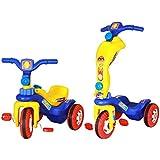 Ehomekart 2 in 1 Tricycle Cum Scooter Runner - (L53cm x B40cm x H54cm)