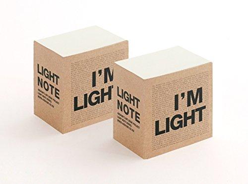 Block Bin (Ich bin Licht Notebook Block (2.75