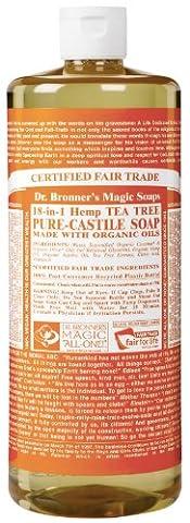 Dr. Bronners Tea Tree 946 ml (Seife)