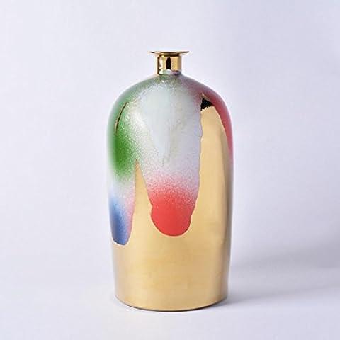New day®-articles d'ameublement Creative Flanger club bouteille droite céramique domestique