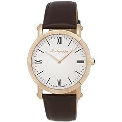 Montegrappa NEROUNO Slim Swiss Made Men 's Rose Gold Watch idnmwarw