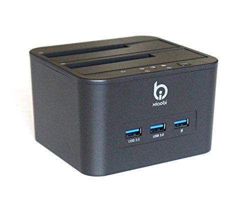 Finerolls- HDD/SSD Docking Station de USB 3.0 para 2.5/ 3.5 Base para Disco Duros