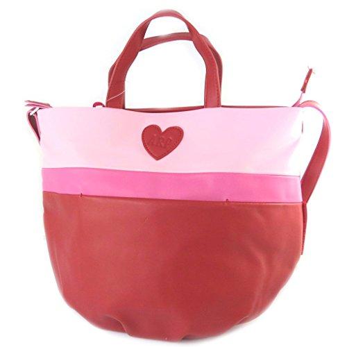 Bag designer 'Agatha Ruiz De La Prada'red rose - 35x34.5x11 cm.