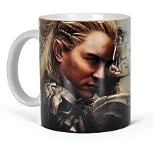 El hobbit - taza del elfo Legolas - La desolación de Smaug - con la liciencia oficial - 300 ml - cerámica