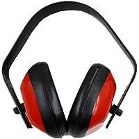 Lesiey Orejeras de protección auditiva Profesionales para Tiro Caza Reducción de Ruido para Dormir Protección auditiva Orejeras para Auriculares - Rojo y Negro
