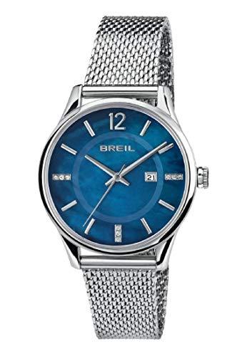 Breil orologio analogico quarzo donna con cinturino in acciaio inox tw1722