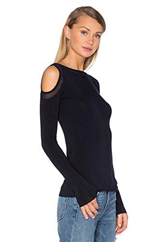 SZIVYSHI Art und Weiseeinfaches schwarzes trägerloses HemdTShirt der Frauen  Black