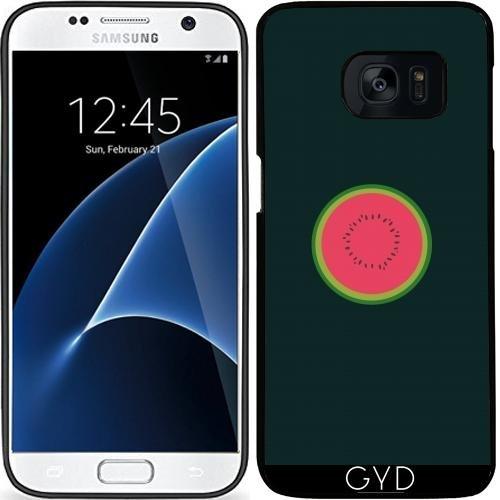 Custodia in silicone per Samsung Galaxy S7 (SM-G930) - Melone Dimezzato by ilovecotton - Verde Melone Seeds