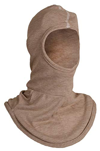 National Safety Apparel H31PK Double Layer PBI Face with Single Layer Bib, One Size, Khaki by National Safety Apparel Inc Pbi-single