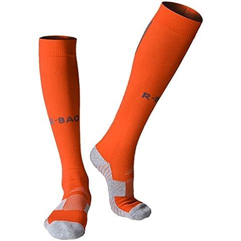 langxi profesional de compresión calcetines de fútbol acolchada Graduado Soporte pantorrilla medias