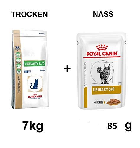 ROYAL CANIN Urinary S/O LP 34 7kg + GRATIS 85g Katzenfutter nass
