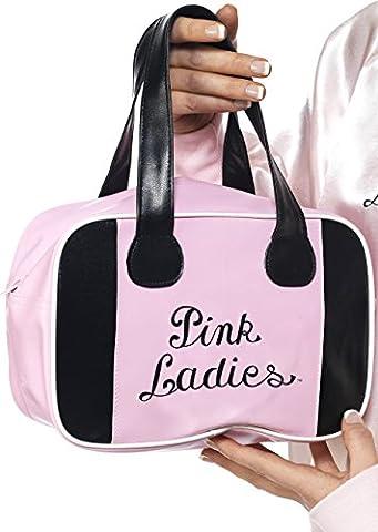 Pink Lady Rose - Smiffys - Sac De Bowling Rose Pink