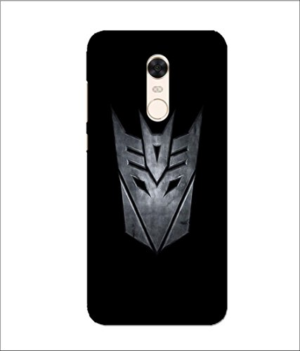 Xiaomi Mi Redmi Note 5 Transformers Logo Printed Hard Polycarbonate Designer Back Cases Cover by Mobi Elite