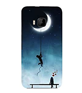 FUSON Amorous Exploits Love Background 3D Hard Polycarbonate Designer Back Case Cover for HTC One M9 :: HTC One M9S :: HTC M9