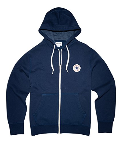 Converse Herren Core Full Zip Hoodie nighttime navy