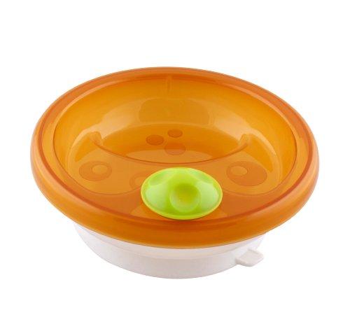 MAM Babyartikel, Piatto termico, Arancione (orange)