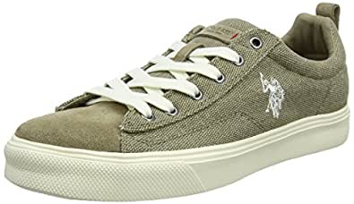 U.S.POLO ASSN. Tebio, Baskets Homme, Bleu (Denim Den), 43 EU