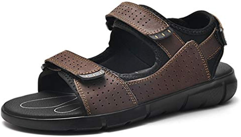 Selling Sandali Sandali Sandali da Uomo in Ecopelle, Sandali Sportivi da Esterno, Pantofole da Spiaggia da Uomo Pantofole da Mare... | Shopping Online  4070a9