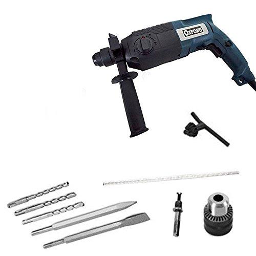 Vetrineinrete Trapano tassellatore 620 watt martello demolitore con 5 punte sds plus mandrino 13 mm A38