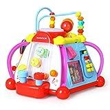 Musikwürfel Kinder Spielzeug Tisch multifunktionale Puzzle Spieltisch Kinder Früherziehung 1-3 Jahre alt Spielzeug Kinder Haus Musik Spielzeug geben Kinder Baby- & Kleinkindspielzeu