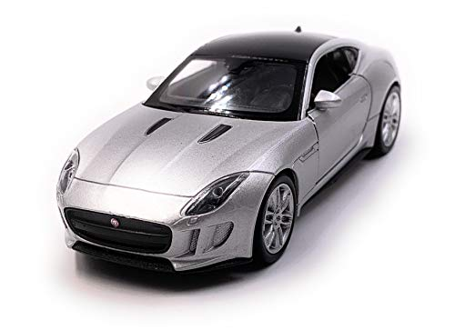 Onlineworld2013 Jaguar Jag F-Type Modellauto Auto Silber for sale  Delivered anywhere in Ireland
