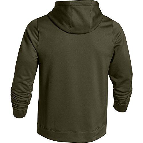 Cheapest Under Armour Men's Ua Storm Caliber Water-Resistant Camo Hoodie Green Medium Special